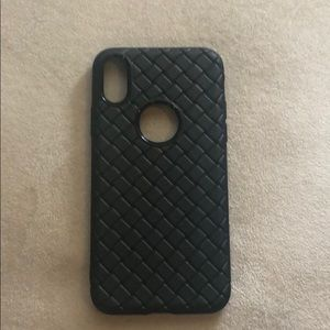 Accessories - Iphone x black case